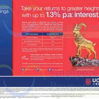 Read more about UOB Up To 1.3% p.a. Fresh Funds Deposit Promo 2 - 28 Feb 2015