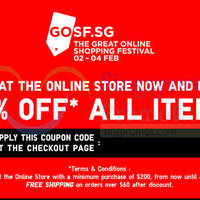 Read more about Uniqlo 20% OFF Storewide Online Promo 2 - 4 Feb 2015