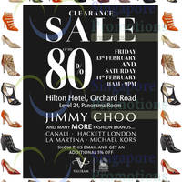 Read more about Valiram Clearance Sale Up To 80% OFF 13 - 14 Feb 2015