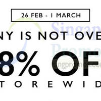 Read more about Zalora 18% OFF Storewide NO Min Spend Coupon Code For First Time Customers 26 Feb - 1 Mar 2015