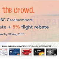 Read more about Zuji Exclusives For OCBC Cardmembers 23 Feb - 15 Mar 2015