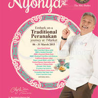 1 Market By Chef Wan New Traditional Peranakan Journey 7 - 31 Mar 2015