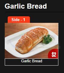 2 Dollar Garlic Bread