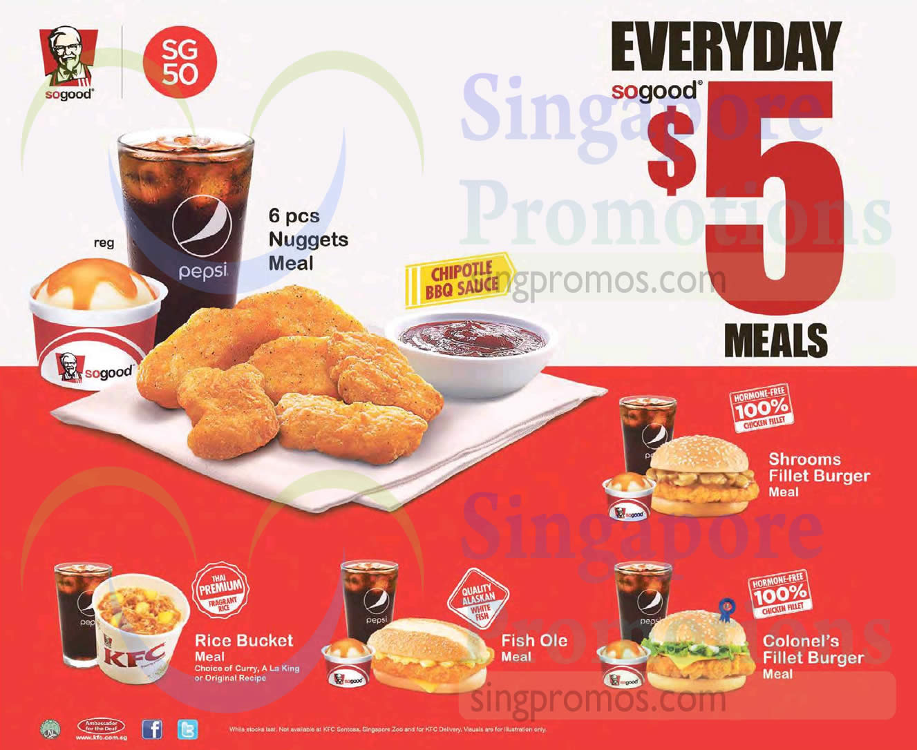 27 Apr 6 pcs Nuggets Meal
