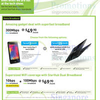 Read more about Starhub Amazing Deals Smartphones, Tablets, Cable TV & Broadband Offers 9 - 22 Mar 2015