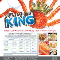 Read more about Sakura Crab Buffet (ft Charcoal-grilled King Crab & Snow Crab Legs) is BACK 20 Mar - 31 May 2015