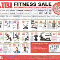 Read more about Aibi Fitness Roadshow @ Suntec City 6 - 12 Mar 2015