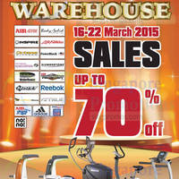 Read more about Aibi Warehouse Sale 16 - 23 Mar 2015