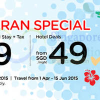 Read more about Air Asia Go 3D2N Songkran fr $129 Flights + Hotels + Taxes Promo 16 - 31 Mar 2015