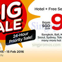 Read more about Air Asia Go Book a Hotel & Get FREE Flights 22 - 29 Mar 2015