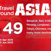 Air Asia Go From $49/night Hotel Deals 30 Mar - 5 Apr 2015