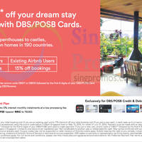 Read more about Airbnb 15% & 17% Off Coupon Code For DBS/POSB Cardmembers 12 Mar - 10 May 2015