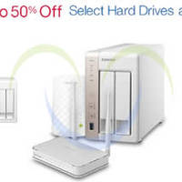 Amazon.com Up To 50% OFF Selected Drives & Networking 24hr Promo 31 Mar - 1 Apr 2015