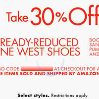 Read more about Amazon.com 30% OFF Nine West (NO Min Spend) Coupon Code 21 - 24 Mar 2015