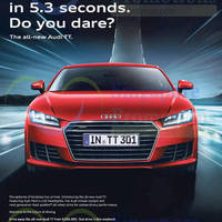Read more about Audi TT Coupe Offer 14 Mar 2015