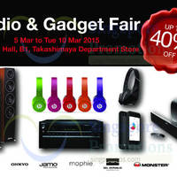 Read more about Hwee Seng Audio & Gadget Fair @ Takashimaya 5 - 10 Mar 2015