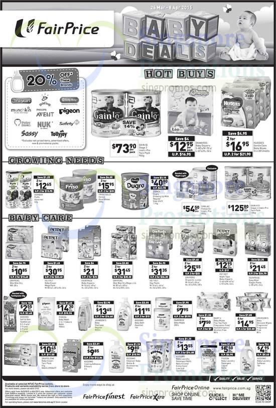 Abbott Gain IQ Stage 3 Intelli-Pro Twin Pack, Dumex Dugro Growing Up Milk, Similac Follow On Intelli-Pro, Abbott Gain Kid Stage 4 Intelli-Pro Twin Pack, Pet Pet Baby Diaper Mega Pack, Drypers Wee Wee Dry Mega, Pet Pet Day Pants