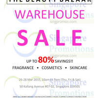 Read more about Beautyfresh Warehouse Sale 26 - 28 Mar 2015