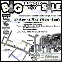 Read more about Big Branded Toy SALE @ Alexandra Retail Centre 27 Apr - 3 May 2015