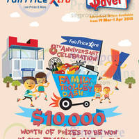 Read more about NTUC Fairprice Super Saver Catalogue, Household, Electronics & Other Offers 19 Mar - 2 Apr 2015