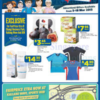 NTUC Fairprice Super Saver Catalogue, Health, Electronics & Other Offers 5 - 18 Mar 2015