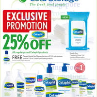 Cetaphil 25% Off Promotion @ Cold Storage 6 - 19 Mar 2015