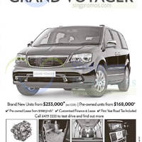 Read more about Chrysler Grand Voyager Offers 7 Mar 2015
