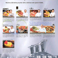 Marina Bay Sands Dining Spend $300 & Get Free $25 Voucher For Citibank Cardmembers 1 - 15 Mar 2015