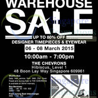 City Chain & Optical 88 Up to 80% OFF SALE @ The Chevrons 6 - 8 Mar 2015