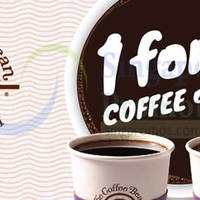 Read more about Coffee Bean & Tea Leaf 50% Off 1 for 1 Coupon 13 Mar 2015