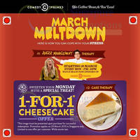 Read more about Coffee Bean & Tea Leaf 1 for 1 Cheesecake 1-Day Coupon 23 Mar 2015