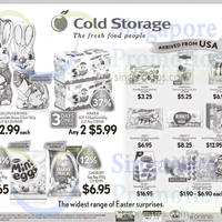 Cold Storage Easter Chocolates Offers 27 Mar - 5 Apr 2015
