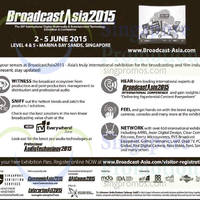 CommunicAsia 2015 @ Marina Bay Sands 2 - 5 Jun 2015