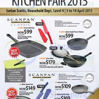 Read more about Scanpan Kitchen Fair 2015 @ Isetan Scotts 3 - 14 Apr 2015