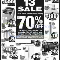 Read more about Courts Up To 70% Off 1-Day Sale 13 Mar 2015