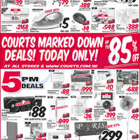 Courts Up To 85% Off 1-Day Offers 4 Mar 2015