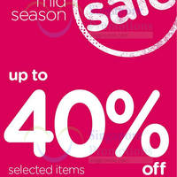 Read more about Crocs Mid Season SALE 19 - 22 Mar 2015