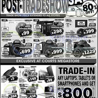 Read more about Courts Up To 80% Off Post-Tradeshow Sale 25 - 27 Mar 2015