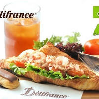 Read more about (Over 40000 Sold) Delifrance 56% Off Classic Sandwich, Drink & Mini Eclair @ 26 Outlets 17 Mar 2015