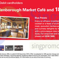 Read more about Ellenborough Market Cafe & Blue Potato 1 Dines Free For HSBC Cardmembers 14 Mar - 30 Dec 2015