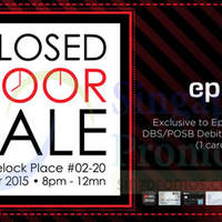 Read more about EpiCentre Closed Door Sale For DBS/POSB Cardmembers & Members 6 Mar 2015