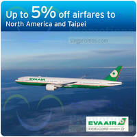 Read more about Eva Air Up To 5% Off Air Fares For Citibank Cardmembers 17 - 31 Mar 2015