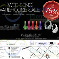 Read more about Hwee Seng Audio Warehouse Sale 27 - 29 Mar 2015