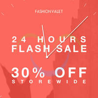 FashionValet 30% OFF Storewide 1-Day Coupon Code (NO Min Spend) 31 Mar 2015