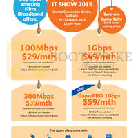 Read more about M1 IT SHOW 2015 Smartphones, Tablets & Home/Mobile Broadband Offers 19 - 22 Mar 2015