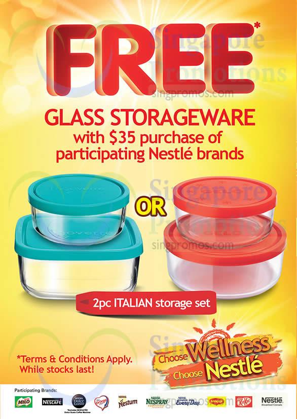 Free Glass Storageware