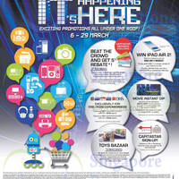 Funan DigitaLife Mall Promotions 6 - 29 Mar 2015