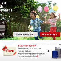 Read more about HSBC Visa Card Apply & Get FREE American Tourister Crystalite Spinner Luggages 6 Mar - 30 Apr 2015