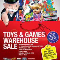 Read more about Hasbro Toys & Games Warehouse SALE 20 - 21 Mar 2015
