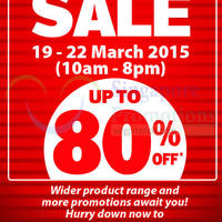 Read more about Home-Fix DIY Store Warehouse Sale @ Tai Seng 19 - 22 Mar 2015